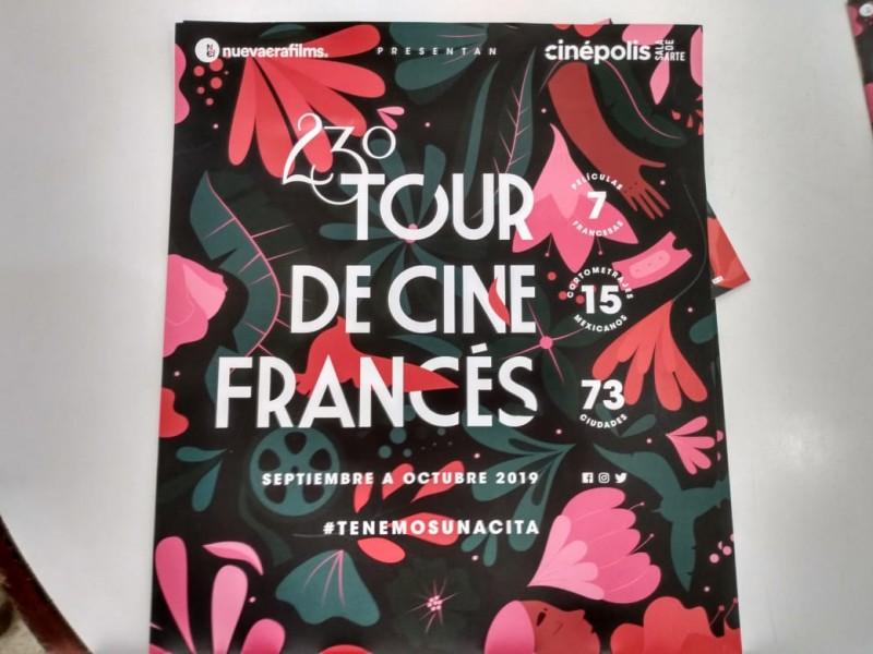 Llega tour de cine Francés a Veracruz