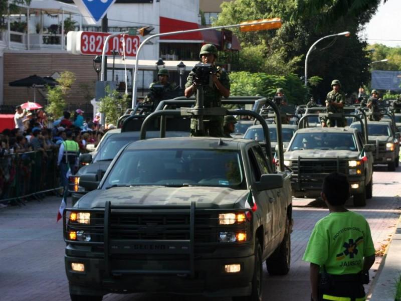 Llegan 600 militares para vigilar la Zona Metropolitana de Guadalajara
