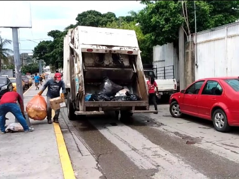 Llegan a acuerdo ayuntamiento y sincalizados; inician trabajos de limpieza