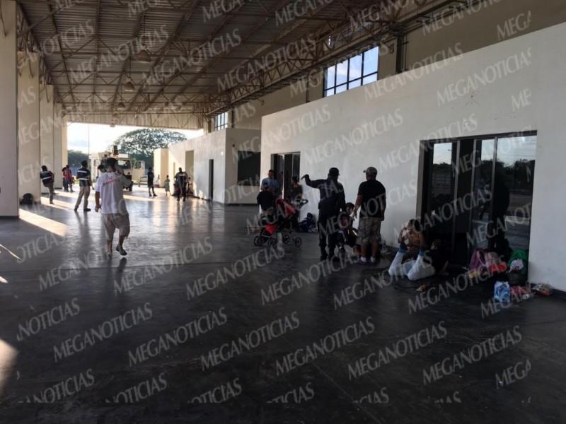 Llegan avanzada de migrantes a Juchitán