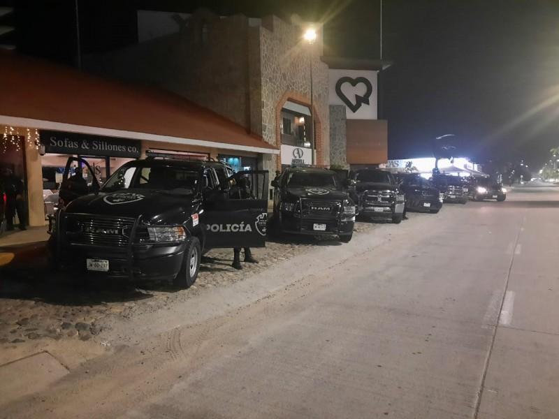 Llegan estatales a Vallarta para reforzar vigilancia