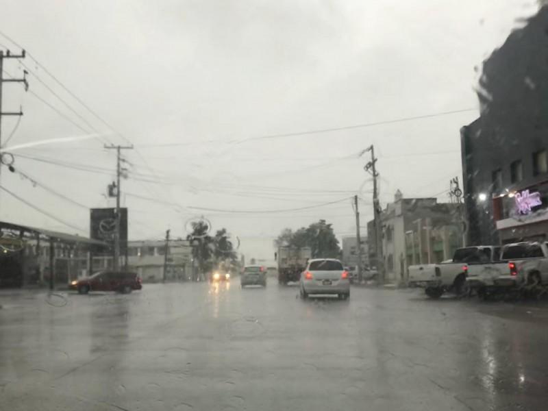 Llegan lluvias a Cajeme