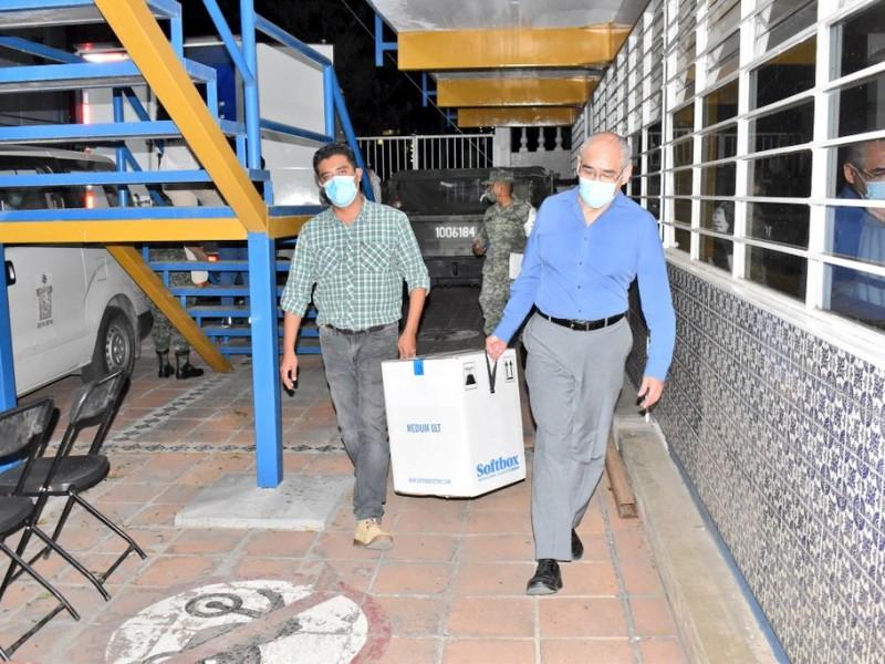 Llegan más vacunas contra Covid-19 a Oaxaca