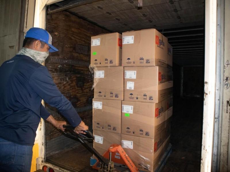 Llegan medicamentos para el rescate del sistema de salud: Alfonso Durazo