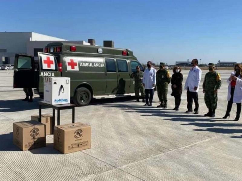 Llegan mil 950 dosis de vacunas contra Covid-19 a Monterrey