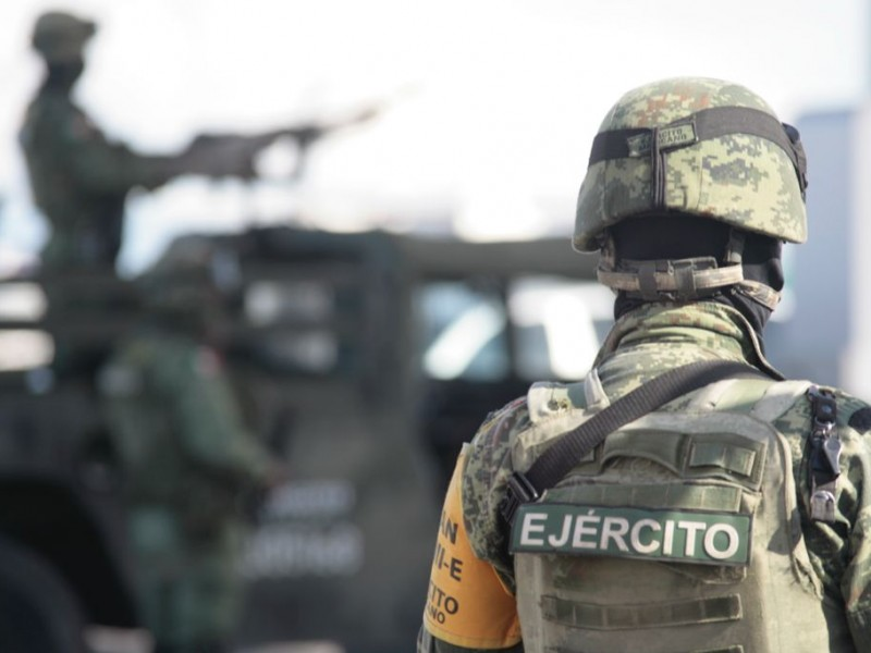 Llegan militares a reforzar seguridad de Salamanca