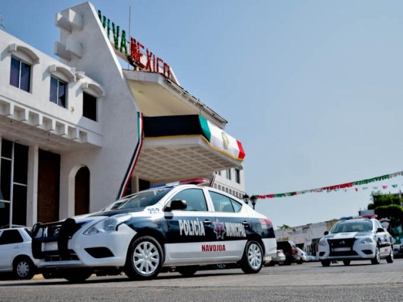 Llegan nuevas patrullas para Seguridad Pública de Navojoa