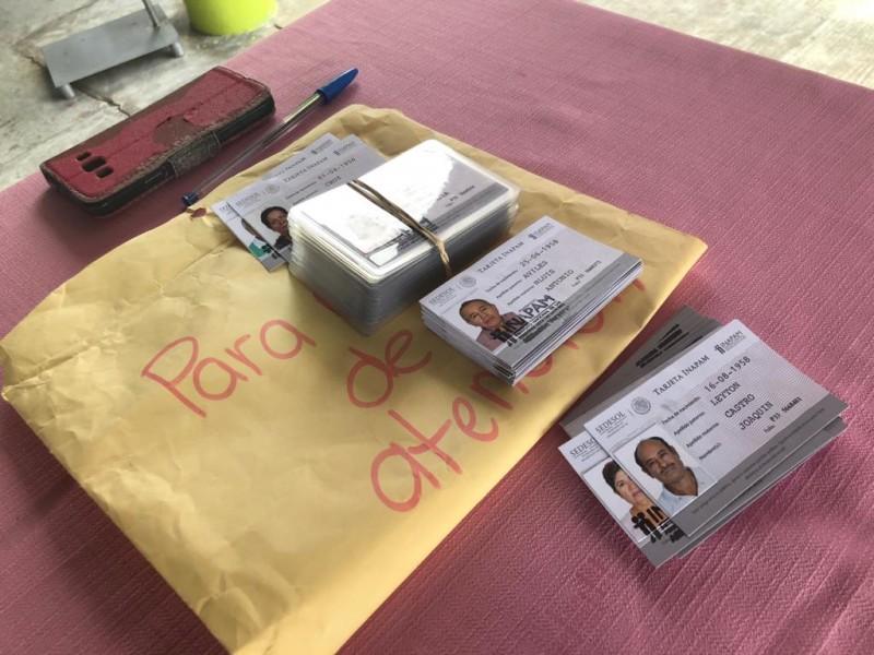 Llegan tarjetas INAPAM para adultos de Álamo