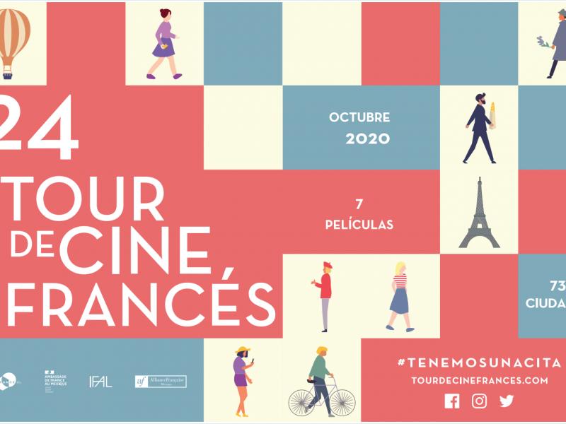Llegará Tour de Cine Francés a Cineteca y Cinépolis Zacatecas