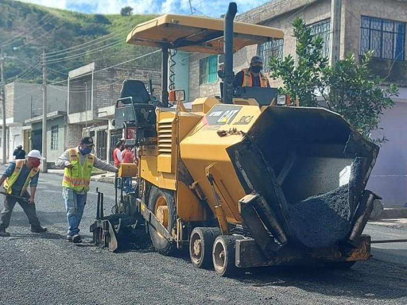 Llegarán a Tepic más de 5 mil toneladas de asfalto