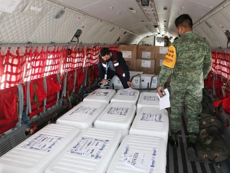 Llegó a Chiapas nuevo lote de vacunas, ahora de AstraZeneca
