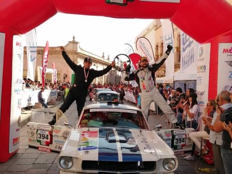 Llegó Carrera Panamericana a Zacatecas