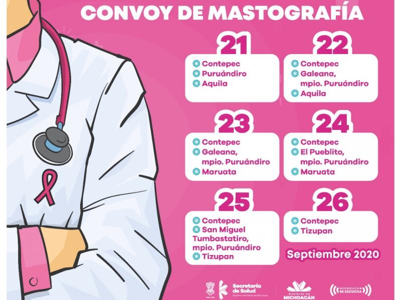 Llevarán mastógrafos a 5 municipios de Michoacán