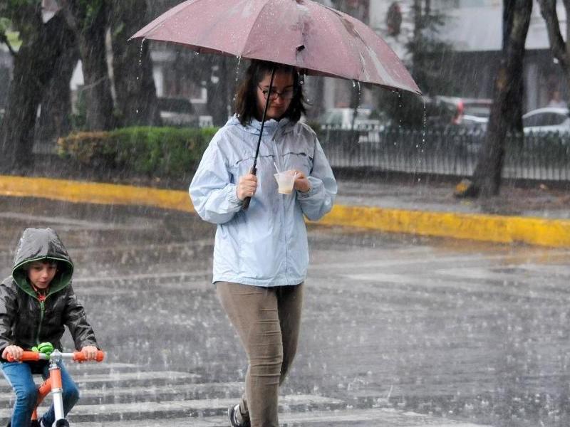 Llueve en 11 delegaciones de la CDMX