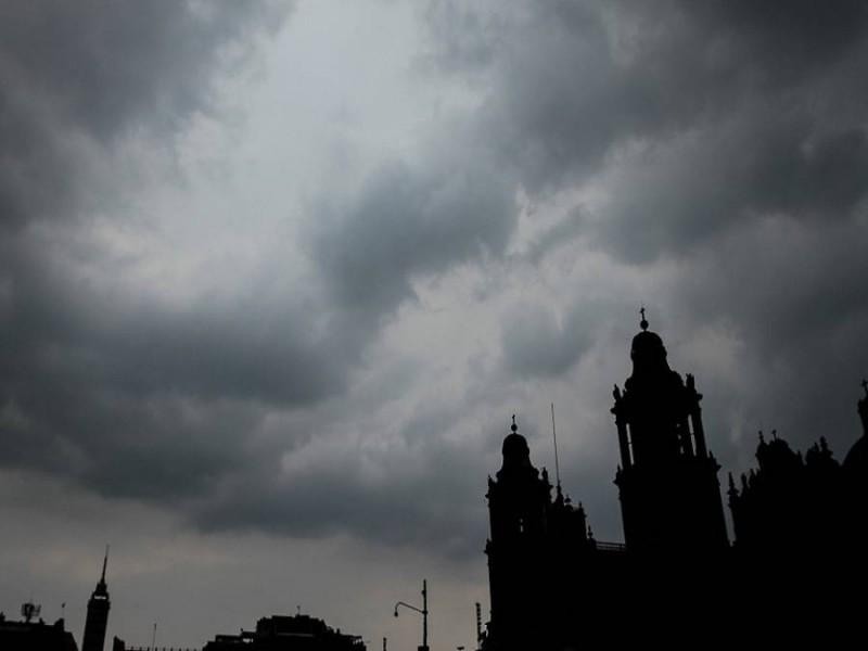 Llueve en cinco alcaldías de la CDMX