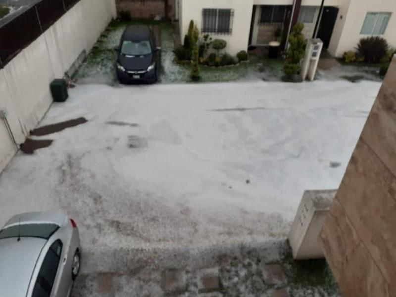 Lluvia deja afectaciones en Puebla capital y zona conurbada