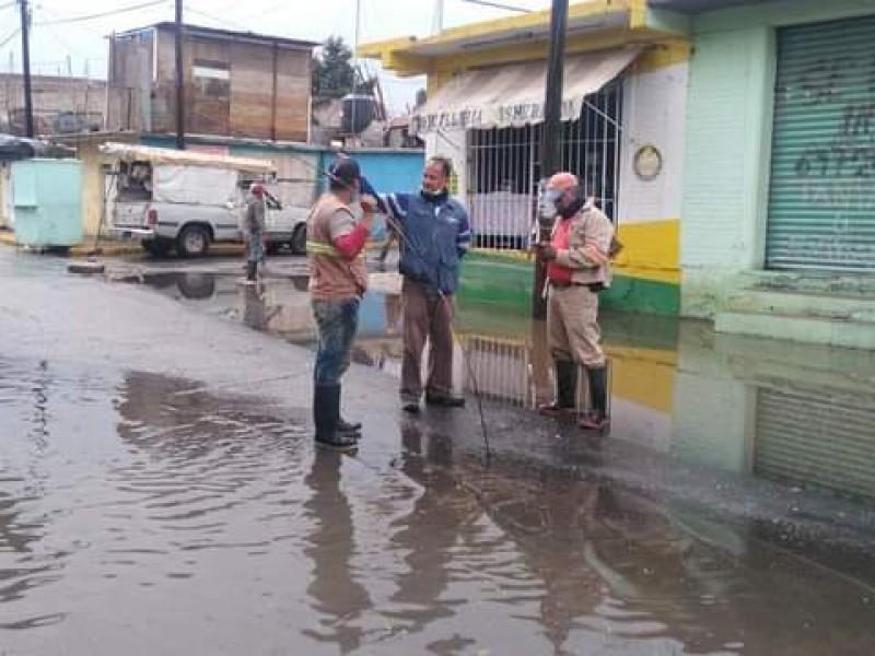 Lluvia dejó 14 casas afectadas en Miravalle