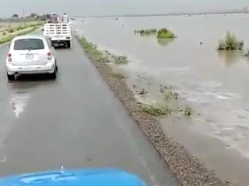 Lluvia en el Valle del Yaqui dejará beneficios al suelo