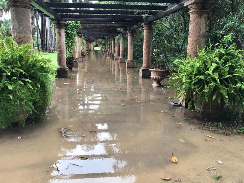 Lluvia sumerge al Parque Sinaloa: daños incalculables