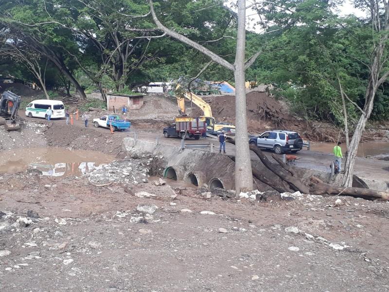 Lluvias causan afectaciones en Chiapas.