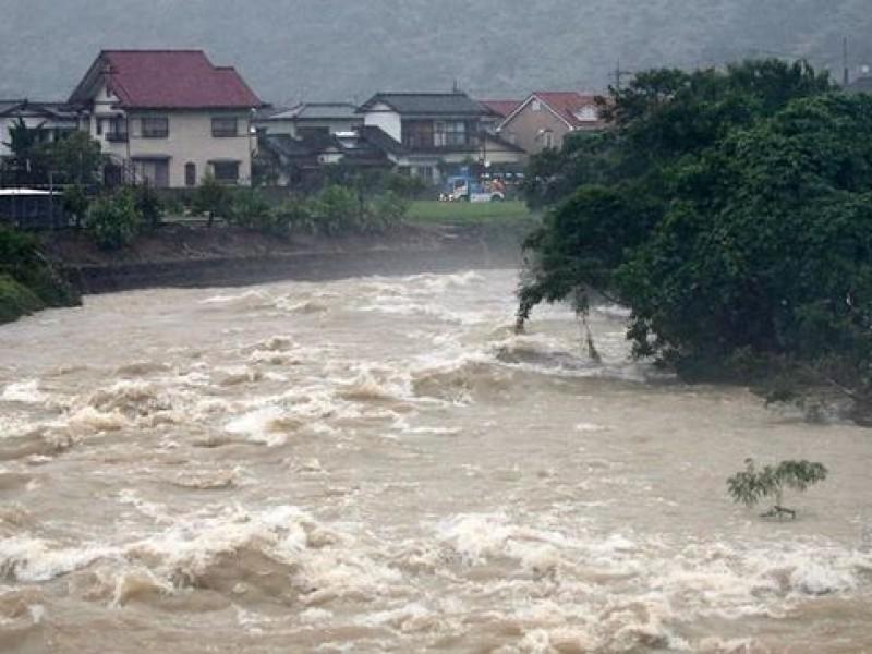 70 muertos por lluvias en Japón