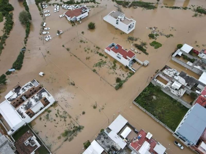 Lluvias dejan afectaciones en 32 municipios de Chiapas