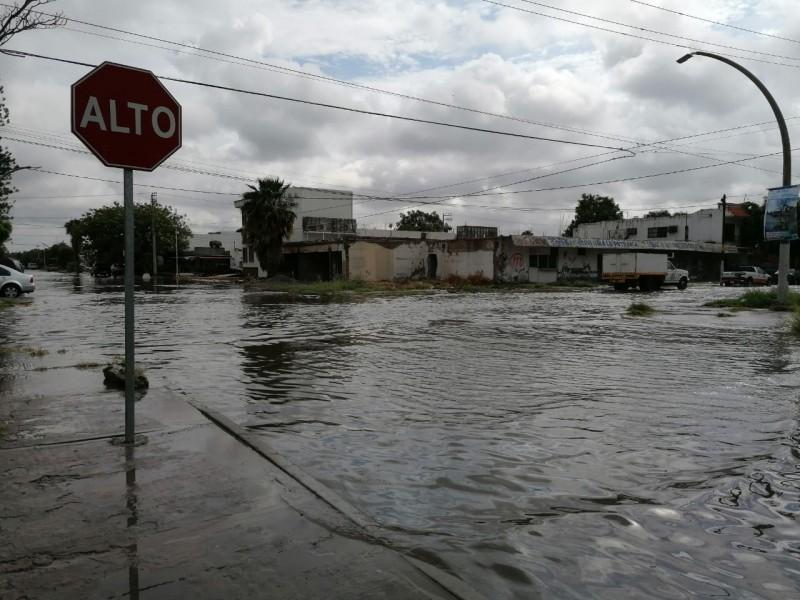 Lluvias dejan afectaciones en Los Mochis, PC pide extremar precauciones