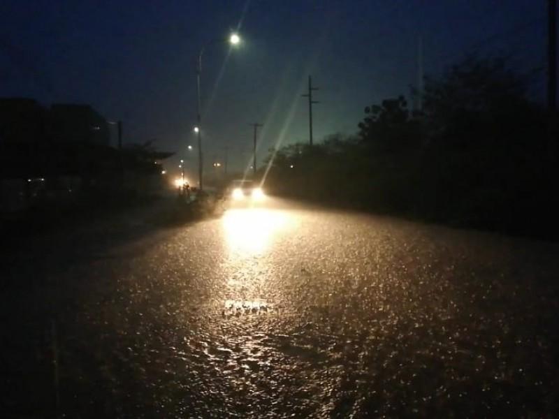 Lluvias dejan afectaciones en Salina Cruz