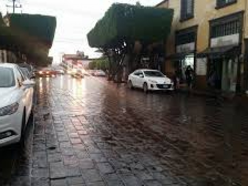 Lluvias dejan algunas afectaciones, se esperan lluvias hoy