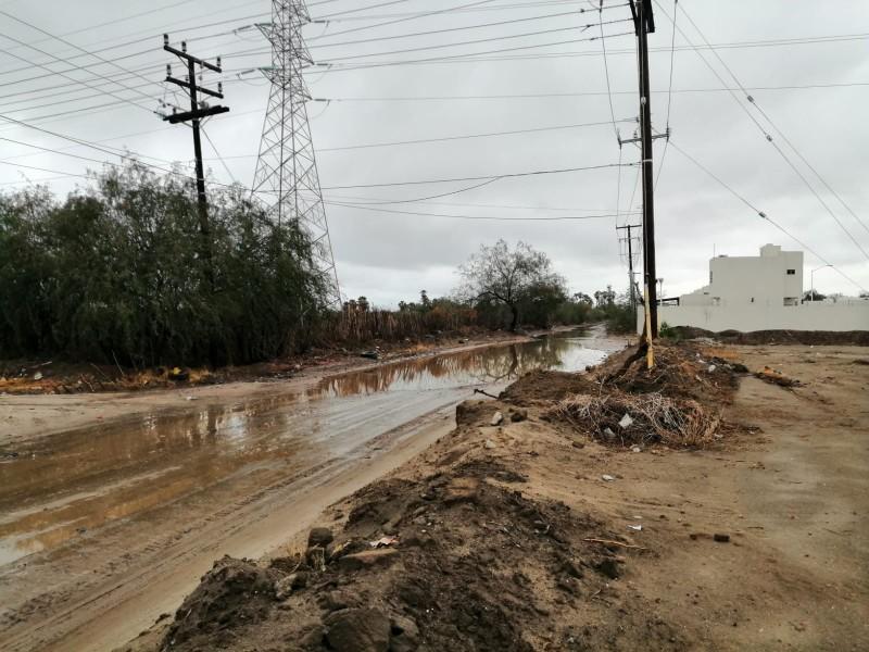 Lluvias dejan daños en La Pitahaya