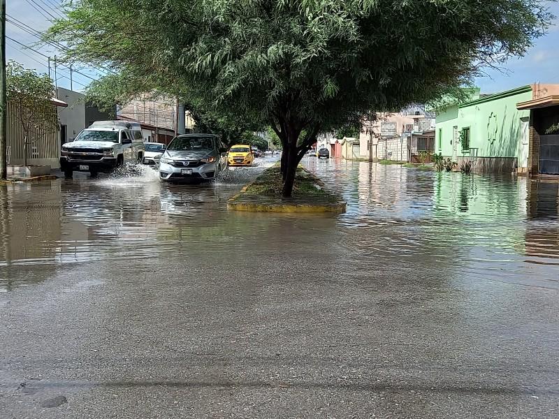 Lluvias dejan encharcamientos importantes en Torreón