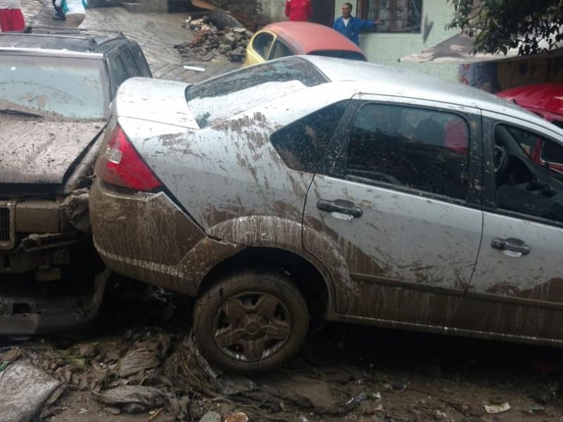 Lluvias dejan inundaciones y encharcamientos en tres delegaciones