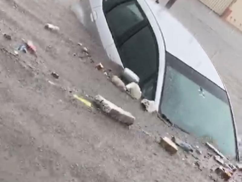 Lluvia dejó inundaciones en Ciudad Industrial de Tepic
