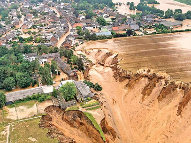 Lluvias e inundaciones en Europa dejan victimas