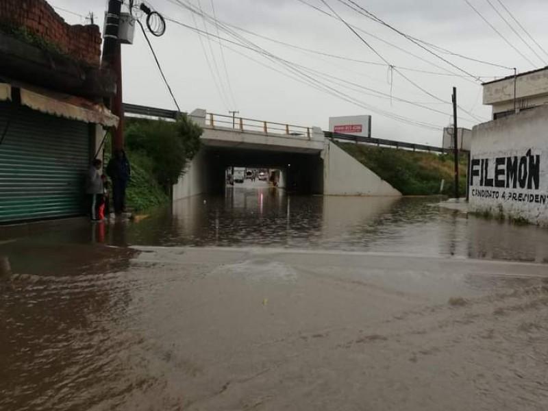Lluvias en San Martín Texmelucan dejan afectaciones en colonias