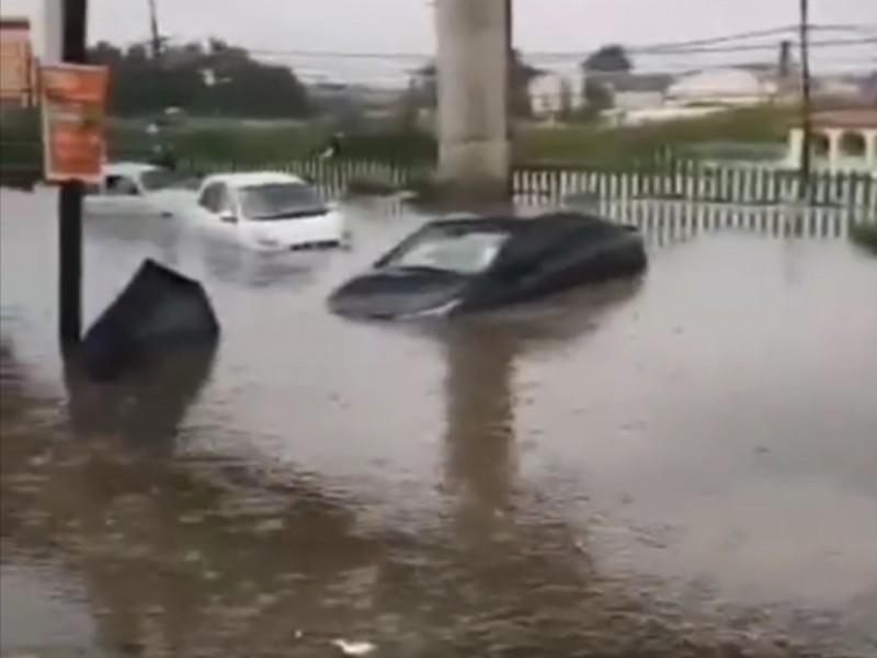 Lluvias golpean a la zona Oriente del Edomex