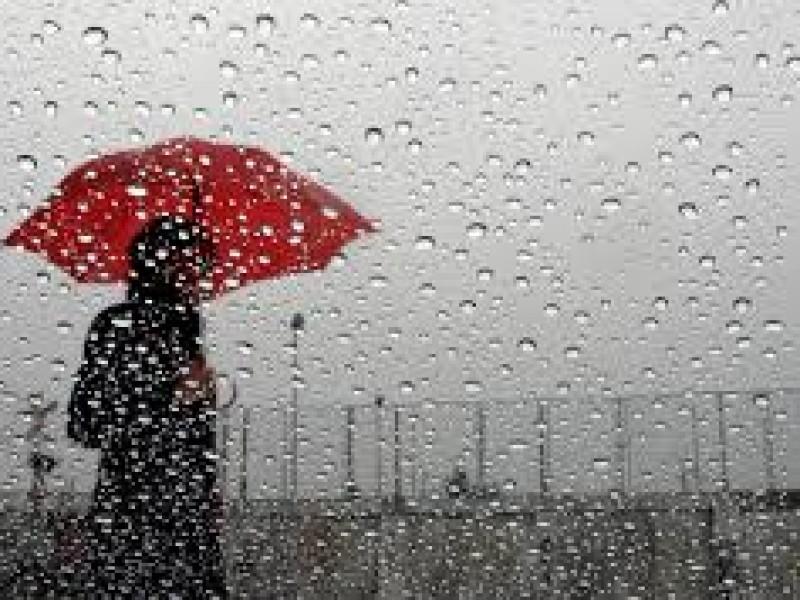 Lluvias intensas y vientos fuertes en Sonora