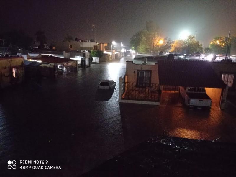 Lluvias  inundan la Región del Mayo