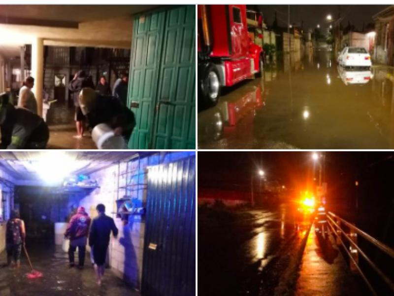 Lluvias provocan afectaciones en el estado de Puebla