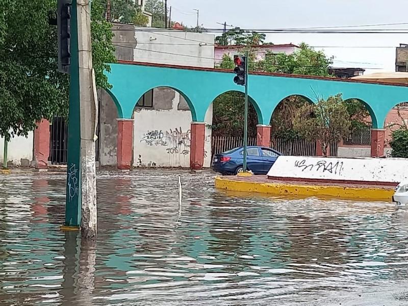 Lluvias provocan caos en la ciudad de Gómez Palacio