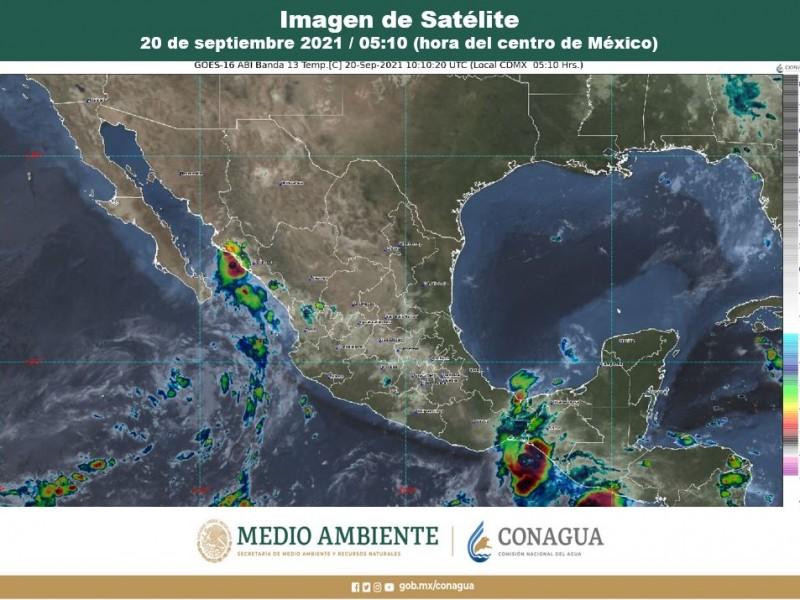 Lluvias y chubascos para varios estados del país este lunes