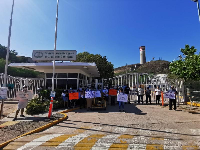 ¡Lo cumplieron! habitantes de Topolobampo se manifestaron en termoeléctrica