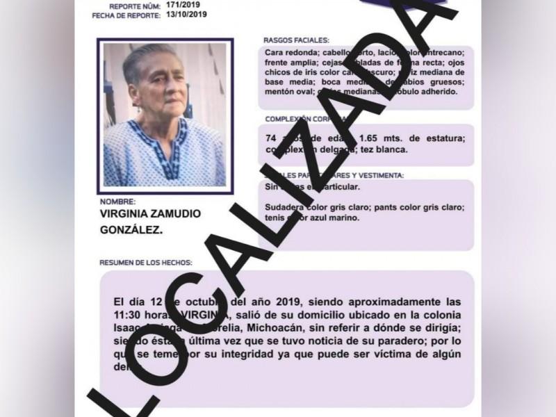 Localiza FGE a mujer reportada como desaparecida