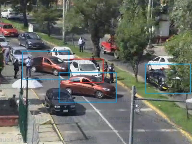 Localiza SSE vehículo involucrado en la comisión de un delito