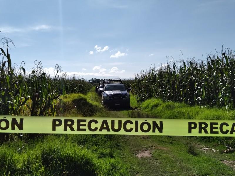 Localizan a hombre sin vida en zona norte de Toluca