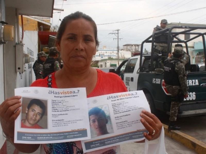 Localizan a líder de personas desaparecidas en Tierra Blanca