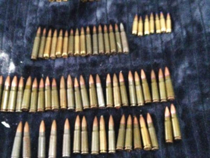 Localizan armas, droga y equipo táctico en casa de Bugambilias