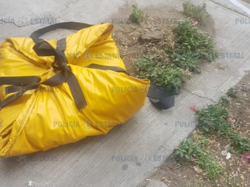 Localizan artefacto explosivo en Ecatepec