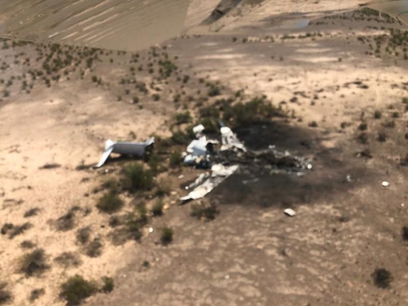 Desplome de avión en Coahuila deja 13 muertos