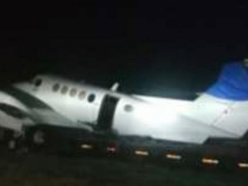 Localizan avioneta con drogas en Tres Valles